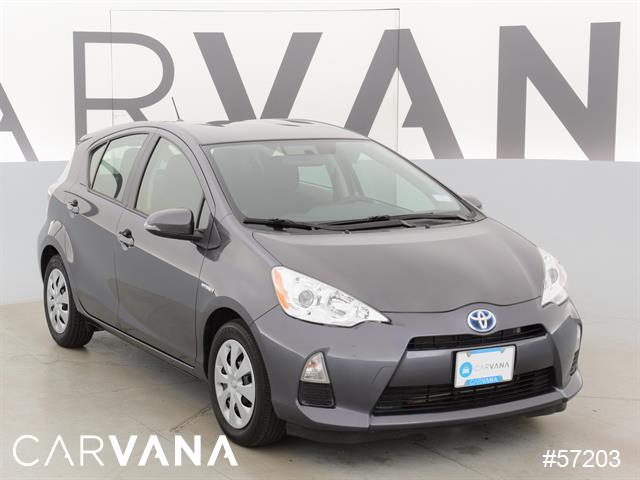 gray 2013 prius c with 23644 miles for sale at carvana used toyota prius for sale in atlanta. Black Bedroom Furniture Sets. Home Design Ideas