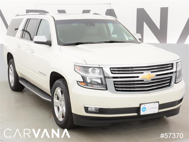 white 2015 suburban with 44985 miles for sale at carvana used chevrolet suburban for sale in. Black Bedroom Furniture Sets. Home Design Ideas