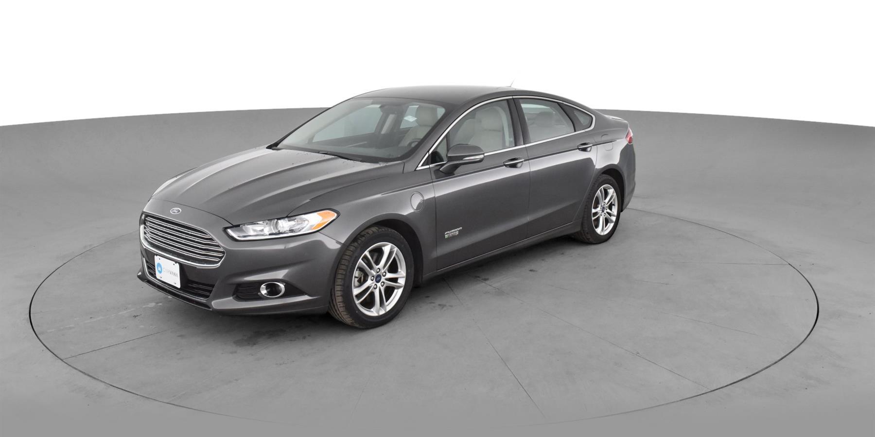 2016 Ford Fusion Energi Plug In Hybrid Titanium Sedan 4d For