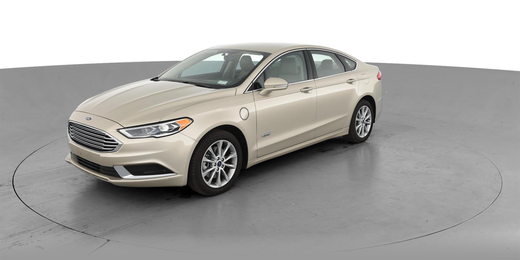2018 ford fusion energi plug in hybrid se luxury sedan 4d for sale