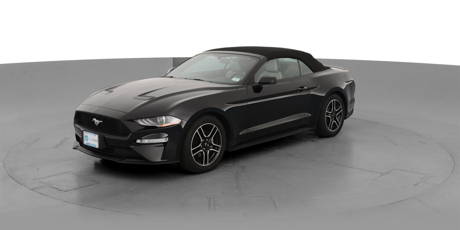 2018 Ford Mustang Ecoboost Premium Convertible 2d For Sale