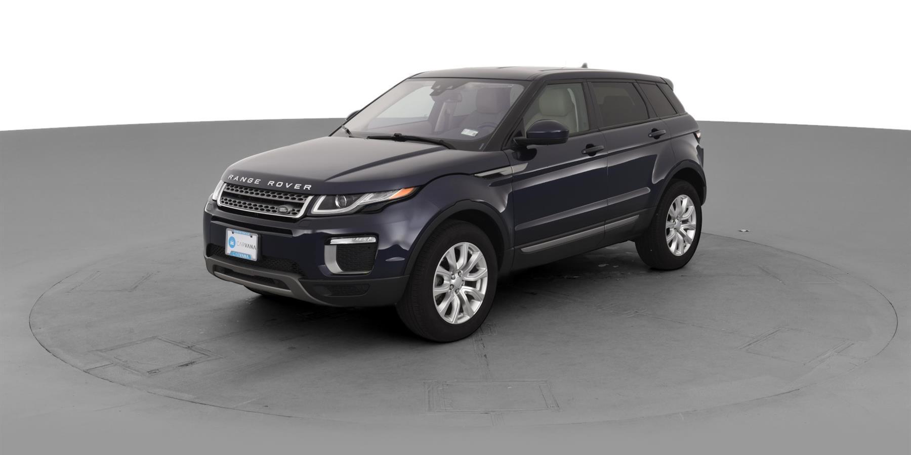 2016 Land Rover Range Rover Evoque Se Sport Utility 4d For
