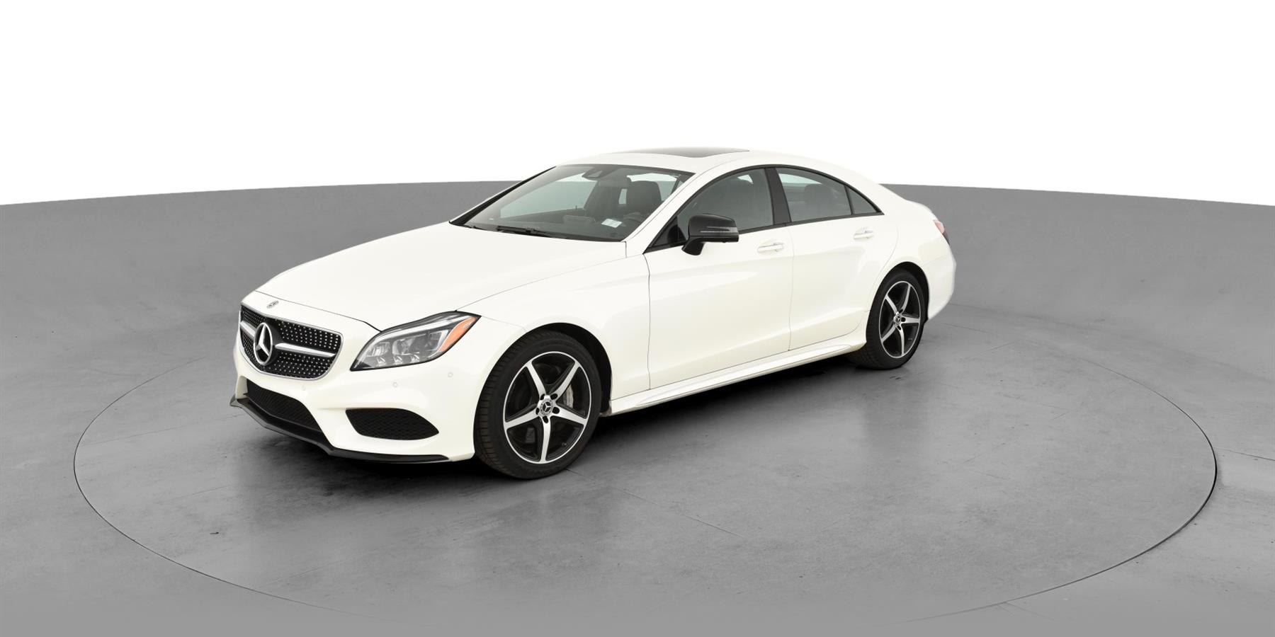 2017 Mercedes Benz Cls Cls 550 4matic Coupe 4d For Sale