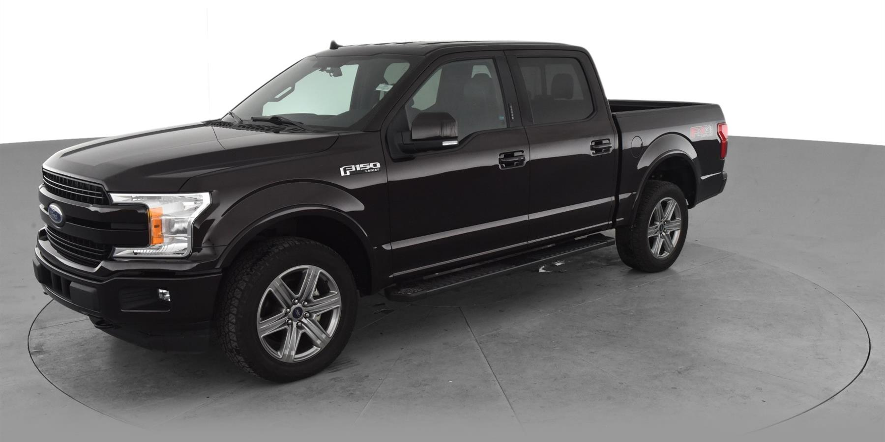 2018 Ford F150 SuperCrew Cab Lariat Pickup 4D 5 1/2 ft for