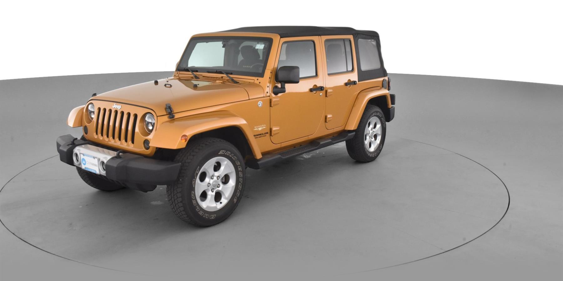 2014 Jeep Wrangler Unlimited Sahara Sport Utility 4d For Sale Carvana